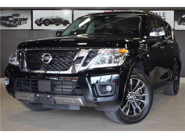 2019 Nissan Armada Platinum (Stk: E6081A) in Thornhill - Image 1 of 33