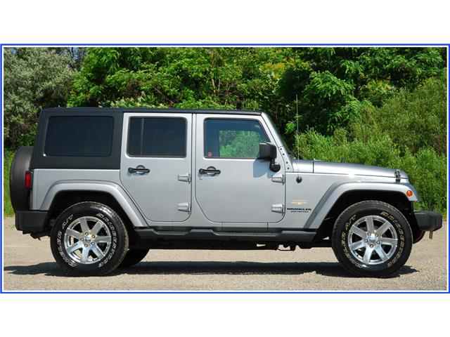 2014 Jeep Wrangler Unlimited Sahara (Stk: D94660AAX) in Kitchener - Image 2 of 18