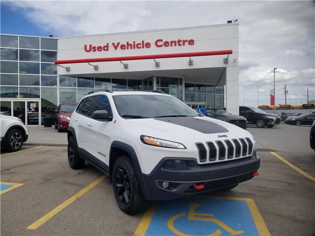 2015 Jeep Cherokee Trailhawk (Stk: 2190748A) in Calgary - Image 1 of 30