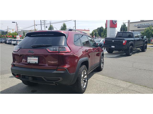 2019 Jeep Cherokee 27L Trailhawk Elite (Stk: 8F7894A) in Duncan - Image 2 of 4