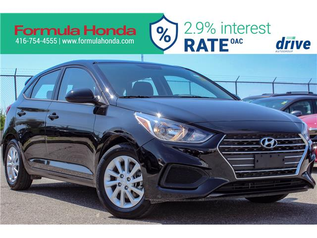 2019 Hyundai Accent Preferred (Stk: B11287R) in Scarborough - Image 1 of 27