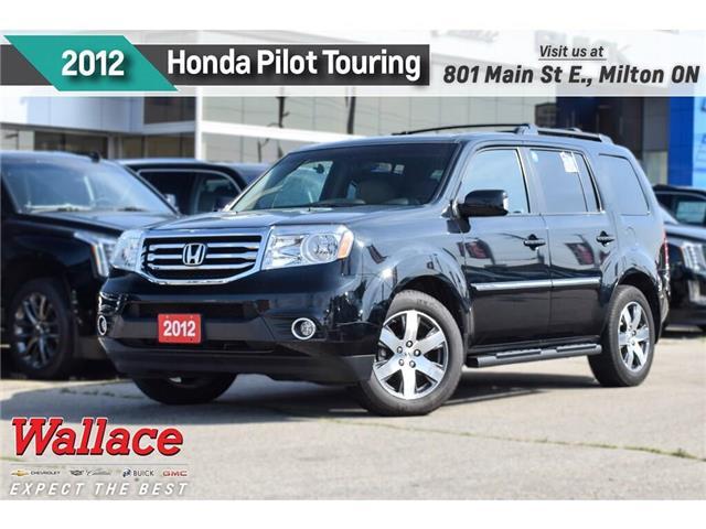 2012 Honda Pilot Touring/4WD/SUNRF/DVD/NAV/HTD LTHR STS/STEPS/ (Stk: PR5092) in Milton - Image 1 of 3