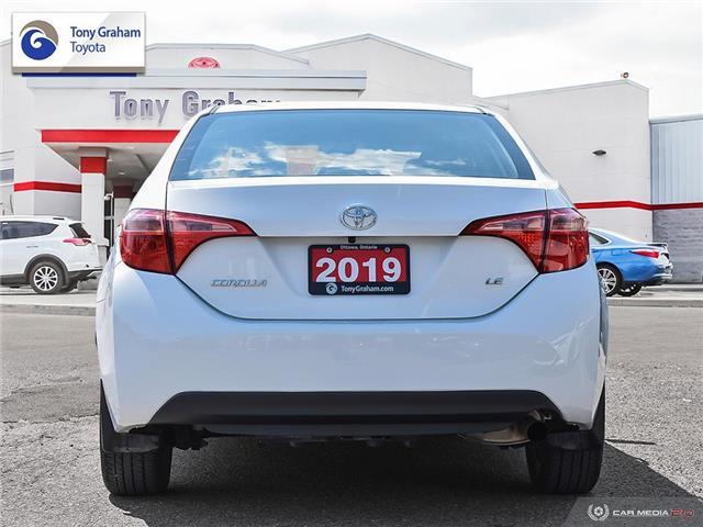 2019 Toyota Corolla LE (Stk: U9133) in Ottawa - Image 5 of 13