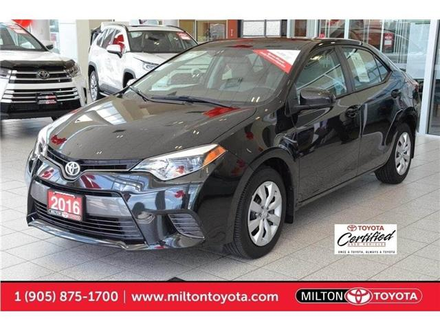 2016 Toyota Corolla  (Stk: 531405) in Milton - Image 1 of 50