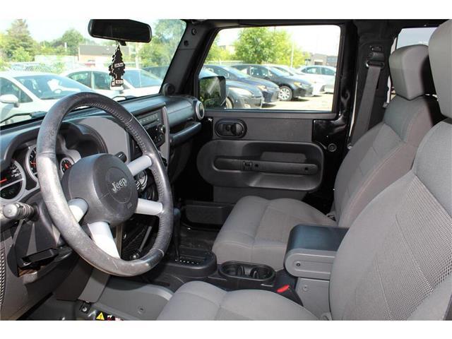 2009 Jeep Wrangler  (Stk: 701561) in Milton - Image 13 of 15