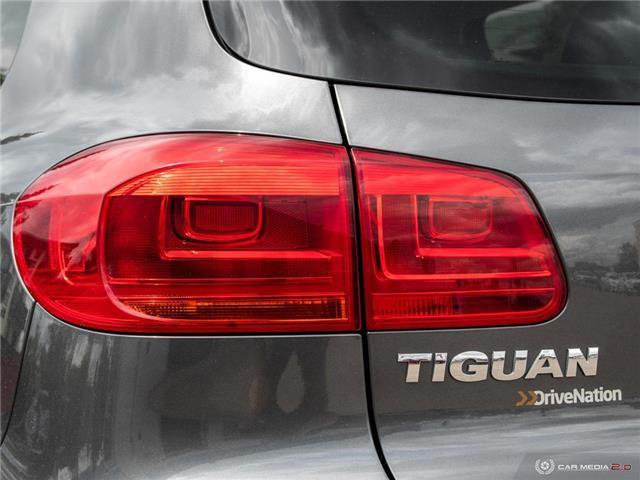2016 Volkswagen Tiguan Comfortline (Stk: D1384) in Regina - Image 12 of 28