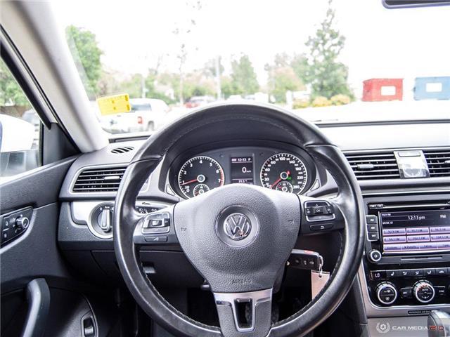 2015 Volkswagen Passat 1.8 TSI Comfortline (Stk: D1375) in Regina - Image 14 of 28