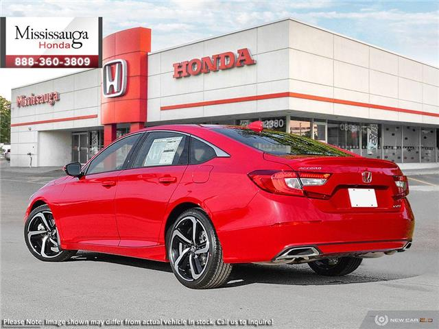 2019 Honda Accord Sport 1.5T (Stk: 326640) in Mississauga - Image 4 of 23