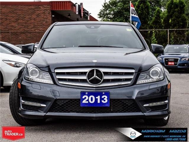 2013 Mercedes-Benz C-Class Base (Stk: Q190530A) in Markham - Image 2 of 29