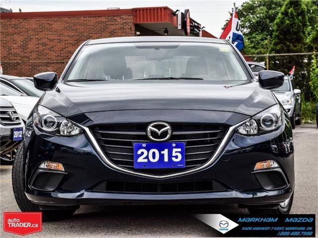 2015 Mazda Mazda3 GX (Stk: N190347A) in Markham - Image 2 of 22