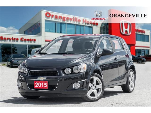 2015 Chevrolet Sonic LT Auto (Stk: G19011A) in Orangeville - Image 1 of 19