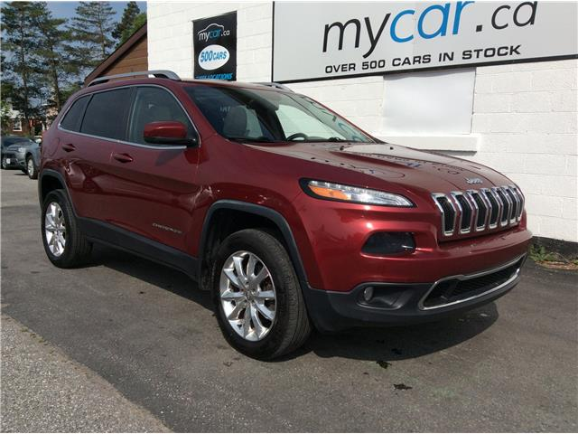 2015 Jeep Cherokee Limited (Stk: 190950) in Richmond - Image 1 of 21