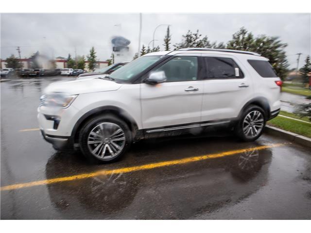 2019 Ford Explorer Platinum (Stk: K-327) in Okotoks - Image 2 of 5
