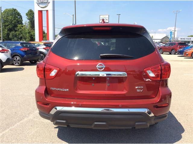 2019 Nissan Pathfinder SV Tech (Stk: 19-279) in Smiths Falls - Image 4 of 13