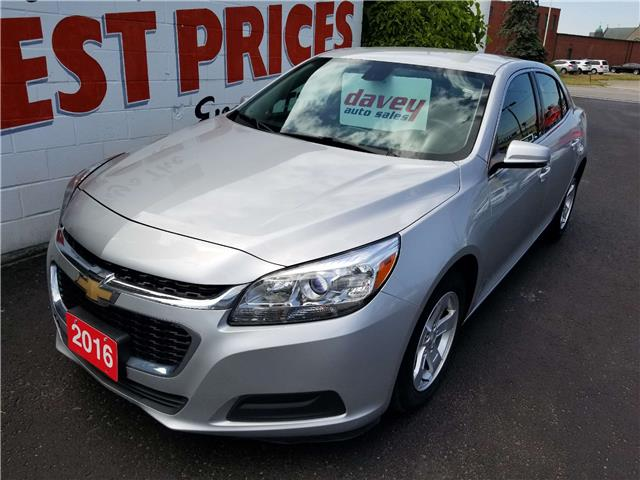 2016 Chevrolet Malibu Limited LT (Stk: 19-446T) in Oshawa - Image 1 of 14