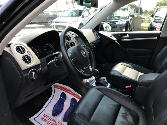 2016 Volkswagen Tiguan Comfortline (Stk: 1731W) in Oakville - Image 10 of 29