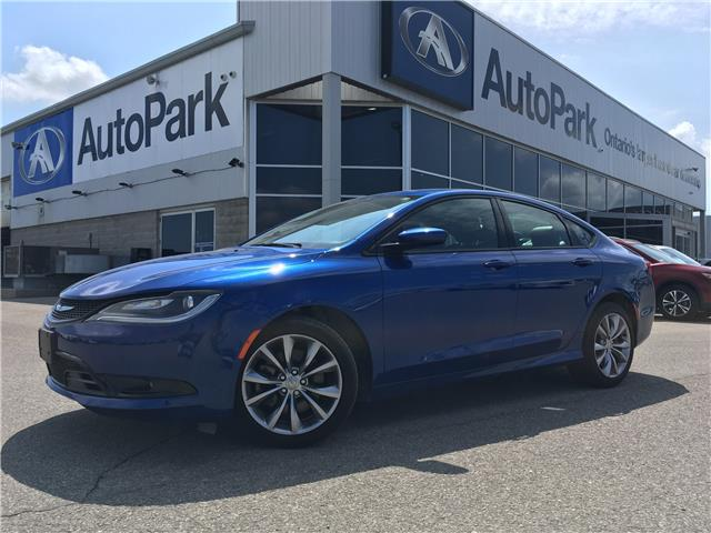 2016 Chrysler 200 S (Stk: 16-93098JB) in Barrie - Image 1 of 24