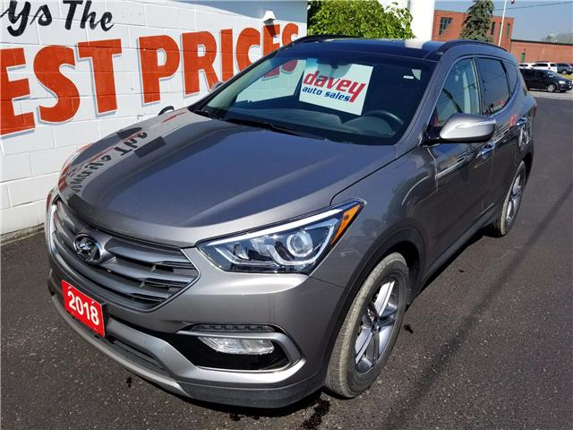 2018 Hyundai Santa Fe Sport 2.4 Luxury (Stk: 19-441) in Oshawa - Image 1 of 17
