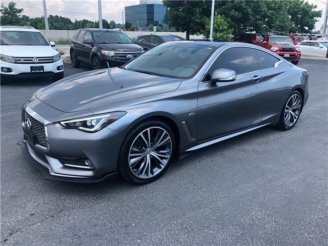 2017 Infiniti Q60 2.0T (Stk: 344-61) in Oakville - Image 1 of 10
