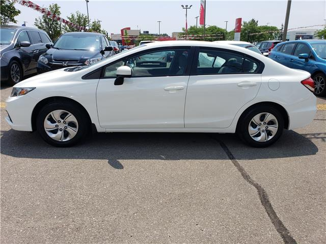 2015 Honda Civic LX (Stk: HC2505) in Mississauga - Image 2 of 21