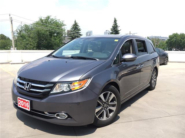 2016 Honda Odyssey Touring (Stk: Y19070A) in Toronto - Image 1 of 33
