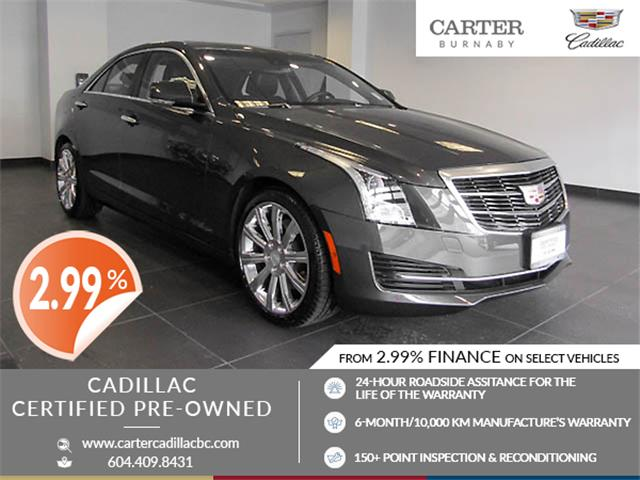 2015 Cadillac ATS 3.6L Luxury (Stk: C9-03921) in Burnaby - Image 1 of 25