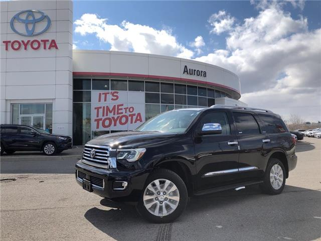 2019 Toyota Sequoia Platinum 5.7L V8 (Stk: 30675) in Aurora - Image 1 of 15