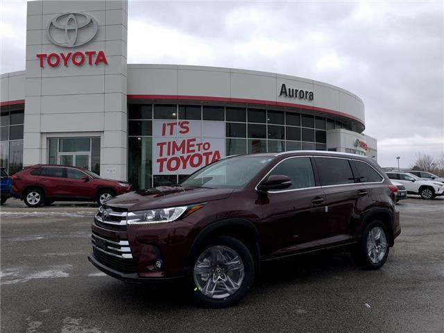 2019 Toyota Highlander Limited (Stk: 30735) in Aurora - Image 1 of 16