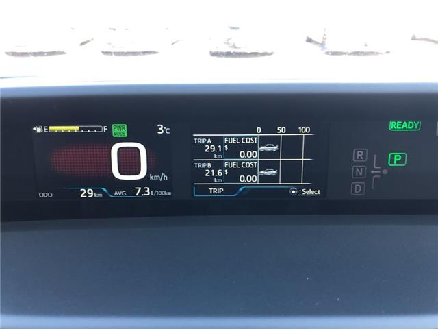 2019 Toyota Prius Technology (Stk: 30741) in Aurora - Image 12 of 17