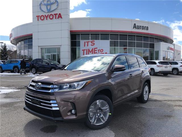 2019 Toyota Highlander Limited (Stk: 30778) in Aurora - Image 1 of 15