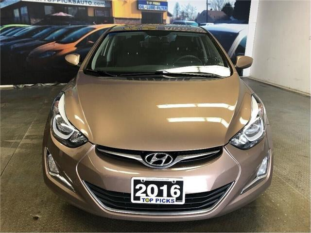 2016 Hyundai Elantra Sport Appearance (Stk: 570651) in NORTH BAY - Image 2 of 27