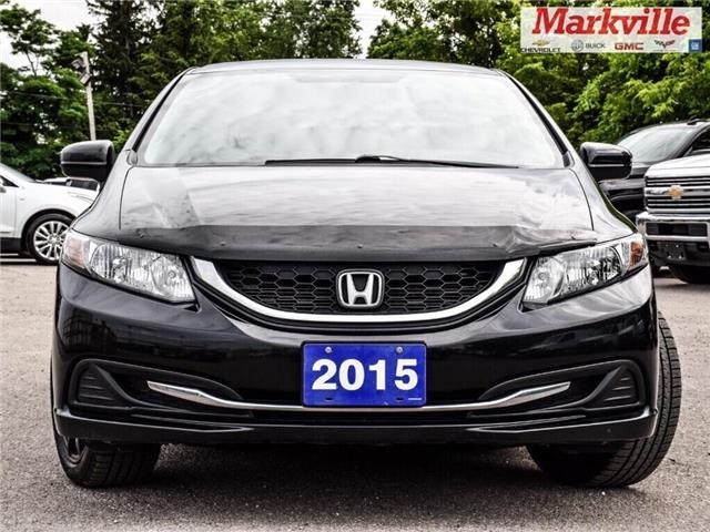 2015 Honda Civic Sedan LX (Stk: 244284B) in Markham - Image 2 of 26