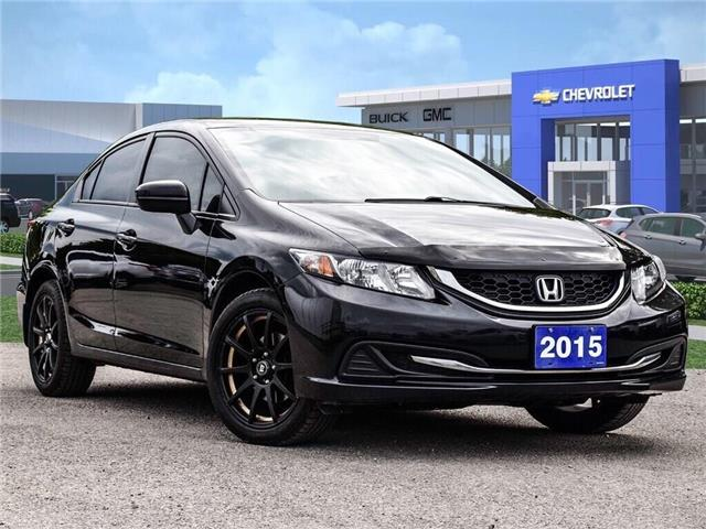 2015 Honda Civic Sedan LX (Stk: 244284B) in Markham - Image 1 of 26
