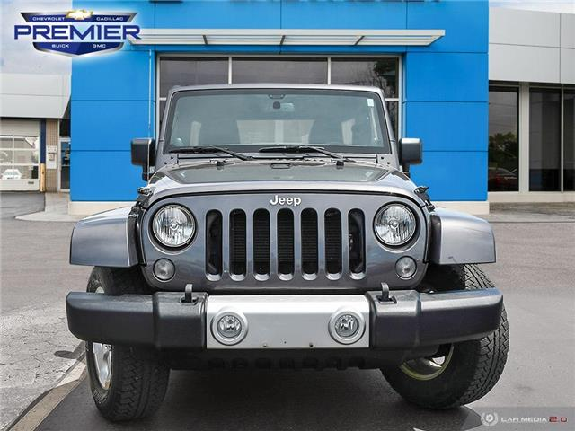 2014 Jeep Wrangler Unlimited Sahara (Stk: 191495A) in Windsor - Image 2 of 24