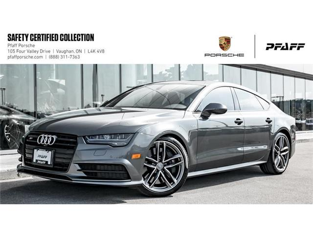 2016 Audi S7 4.0T quattro 7sp S tronic (Stk: P11589A) in Vaughan - Image 1 of 22