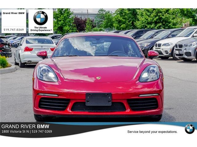2018 Porsche 718 Cayman Base (Stk: PW4939) in Kitchener - Image 2 of 22