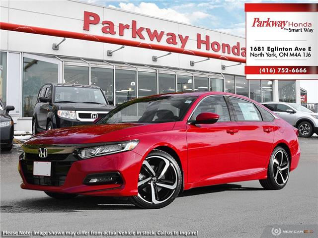 2019 Honda Accord Sport 1.5T (Stk: 928112) in North York - Image 1 of 23