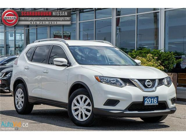 2016 Nissan Rogue  (Stk: Y19111A) in Scarborough - Image 2 of 24
