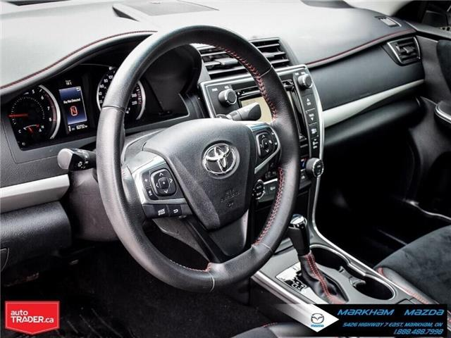 2015 Toyota Camry SE (Stk: N190263A) in Markham - Image 11 of 29