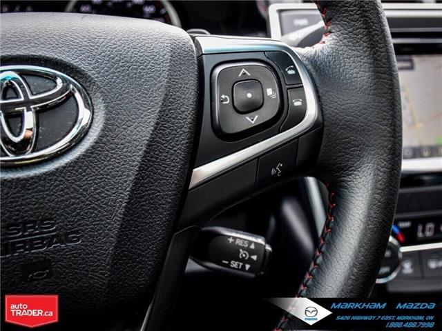 2015 Toyota Camry SE (Stk: N190263A) in Markham - Image 25 of 29