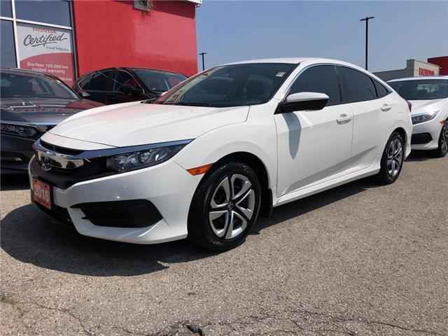 2016 Honda Civic LX (Stk: 57105A) in Scarborough - Image 1 of 17