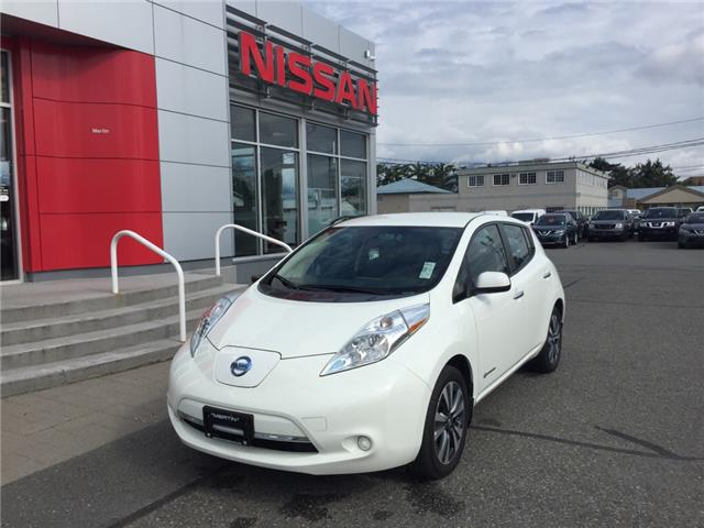 2017 Nissan LEAF SV (Stk: N19-0092P) in Chilliwack - Image 1 of 18