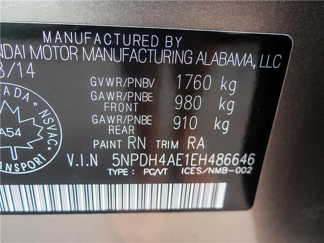 2014 Hyundai Elantra  (Stk: 92203A) in Waterloo - Image 21 of 23