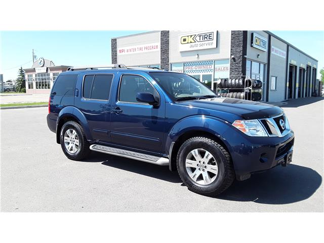 2012 Nissan Pathfinder LE (Stk: P492) in Brandon - Image 1 of 18