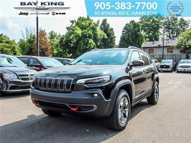 2019 Jeep Cherokee Trailhawk (Stk: 197529) in Hamilton - Image 1 of 21