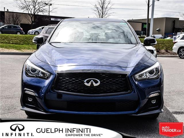 2019 Infiniti Q50 3.0t I-LINE RED SPORT (Stk: I6941) in Guelph - Image 2 of 22