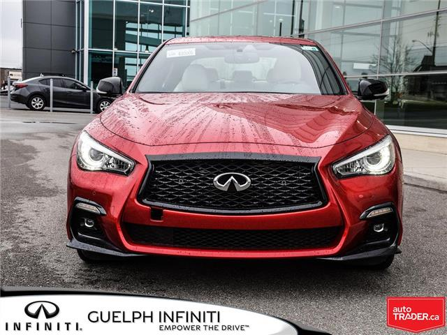 2019 Infiniti Q50 3.0t I-LINE RED SPORT (Stk: I6943) in Guelph - Image 2 of 22