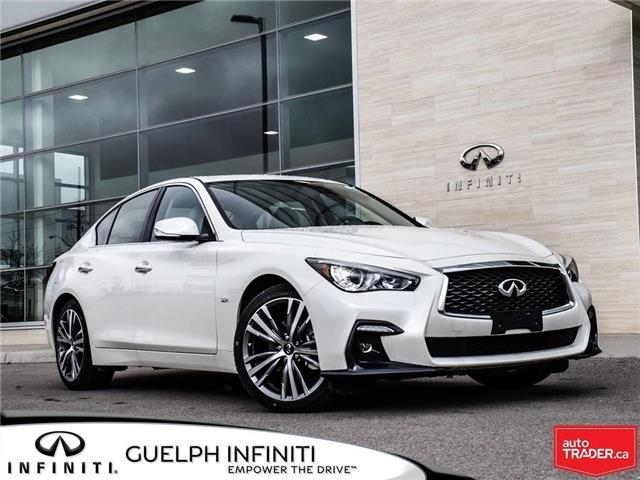 2019 Infiniti Q50 3.0t Signature Edition (Stk: I6914) in Guelph - Image 1 of 24