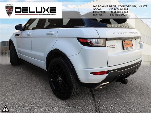 2016 Land Rover Range Rover Evoque HSE DYNAMIC (Stk: D0611) in Concord - Image 4 of 30