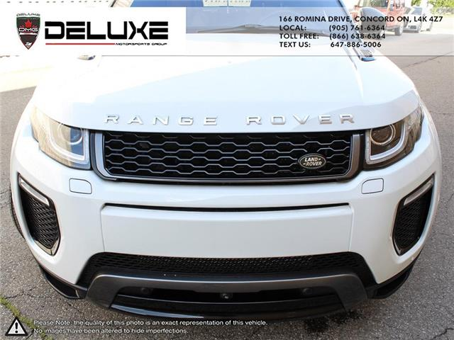 2016 Land Rover Range Rover Evoque HSE DYNAMIC (Stk: D0611) in Concord - Image 12 of 30